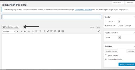 Cara Mengatur Kontributor WordPress Bisa Mengupload File/Gambar