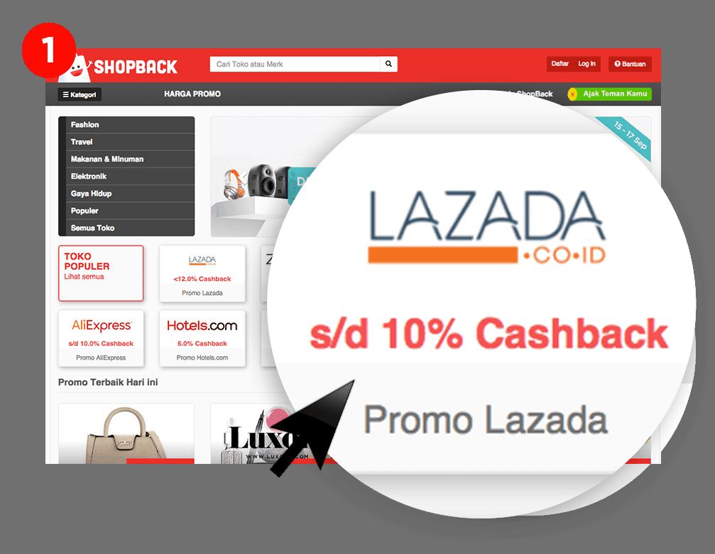Cara Mendapat Casback di ShopBack 1