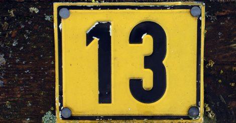 Tanya Kenapa #13: Kenapa Angka 13 Dianggap Sial?