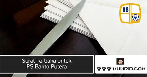 Surat Terbuka untuk PS Barito Putera