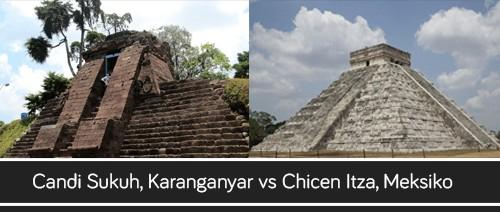 Candi Sukuh, Karanganyar vs Chicen Itza, Meksiko