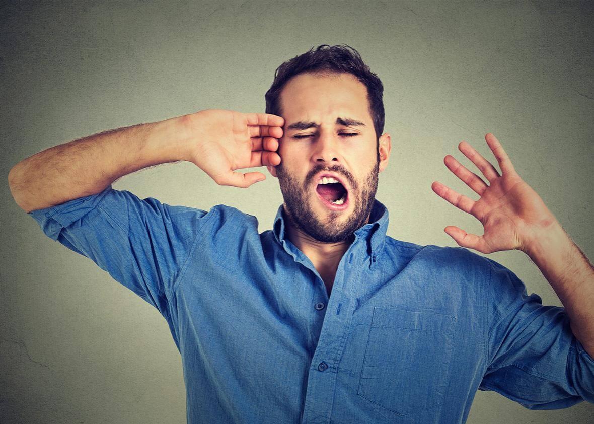 Kenapa Telinga Tidak Mendengar Saat Menguap