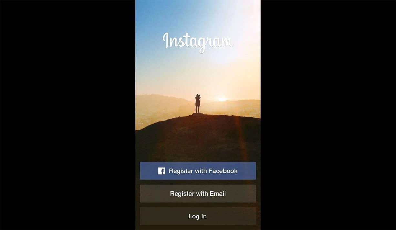 Tampilkan halaman awal Instagram