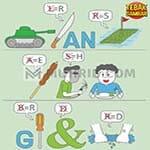 Kunci Jawaban Tebak Gambar Level 92 TENGGOROKAN SAKIT SETELAH MAKAN GORENGAN PEDAS