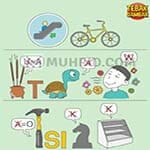 Kunci Jawaban Tebak Gambar Level 115 NAIK SEPEDA DAPAT KURANGI POLUSI UDARA