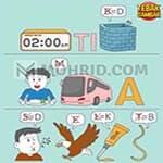 Kunci Jawaban Tebak Gambar Level 144 WAKTU TIDAK AKAN BISA DIULANG KEMBALI