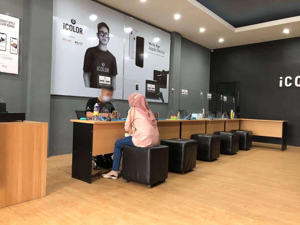 Pengalaman Servis iPhone di iColor Borneo Banjarmasin